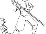 Aang The Last Airbender Jtrazbo Avatar Aang Coloring Page