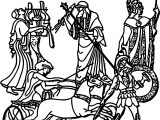 Ancient Greece Civilization Coloring Page