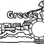 Ancient Greece Coloring Page