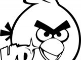 Angry Birds Hd Coloring Page