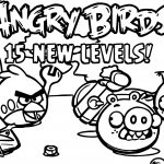 Angry Birds Hi Levels Coloring Page