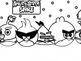 Angry Birds Space Coloring Page