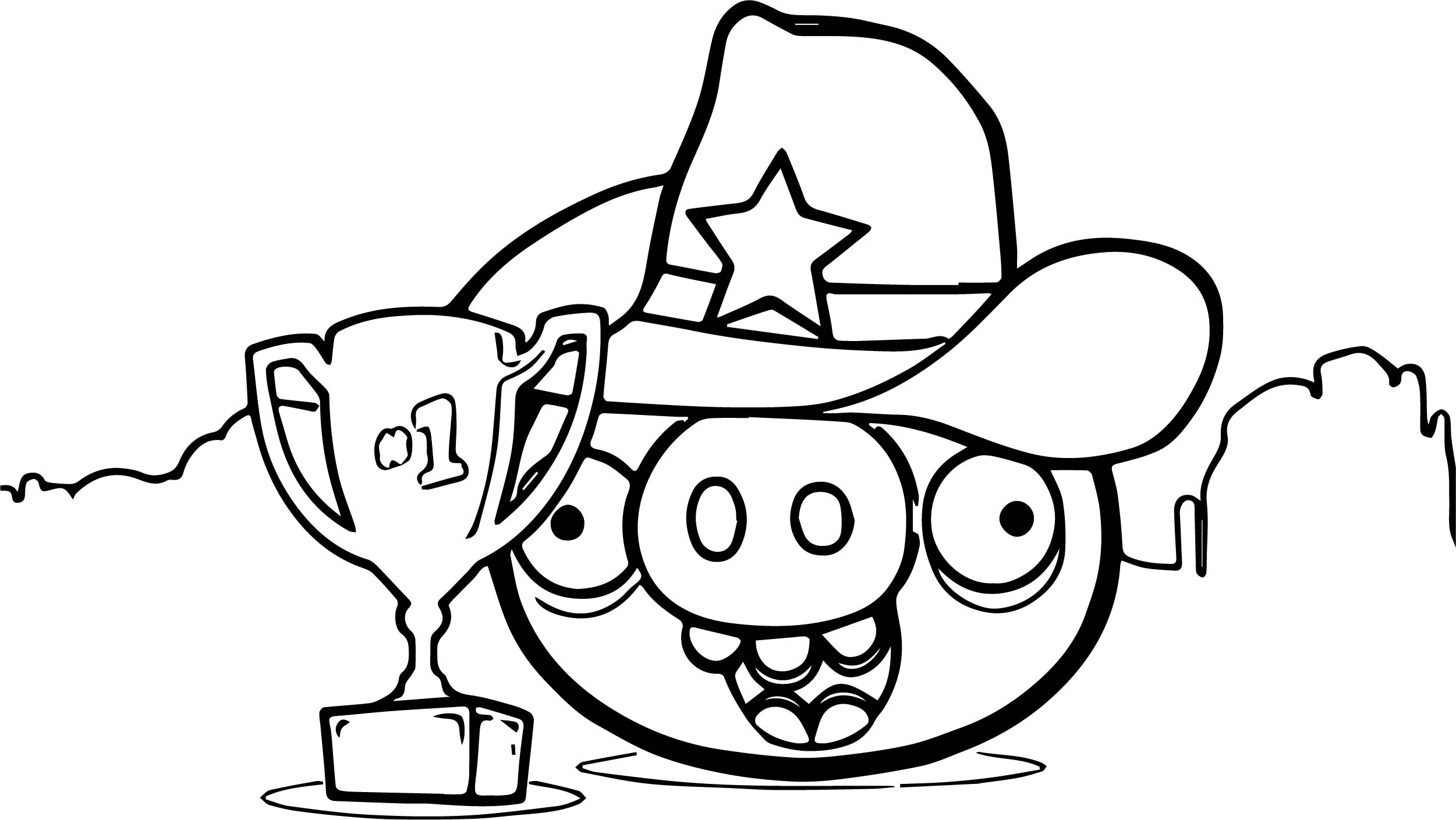AngryBirds Nest Leaderboard Coloring Page
