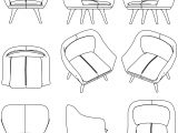 Armchair Pictures Coloring Page