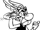 Asterix Listen Coloring Page
