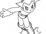 Astro Boy Image Coloring Page