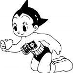 Astro Boy My Heart Coloring Page