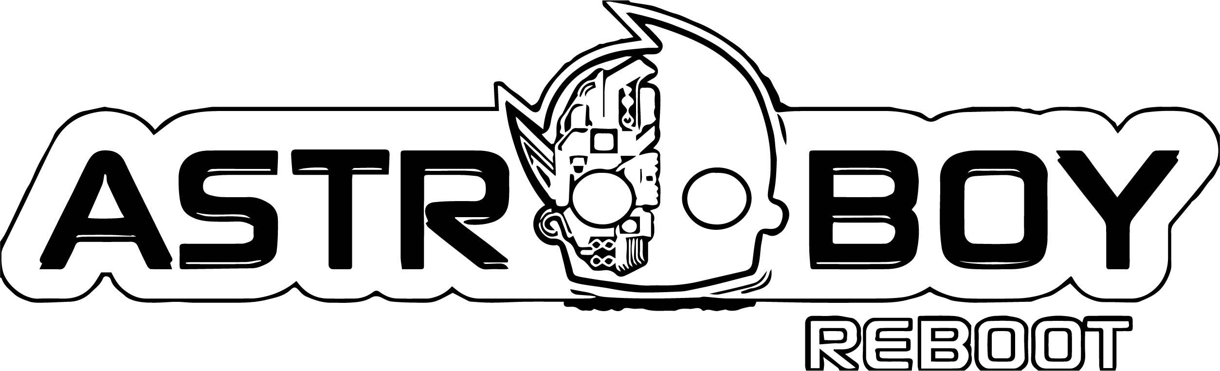 Astro Boy Reboot Logo Coloring Page | Wecoloringpage.com