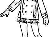 Asuna Girl Character Coloring Page
