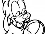 Baby Goof Ball Coloring Page