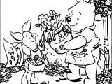 Baby Piglet My Paint Coloring Page