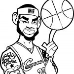 Basketball Player Character Design Coloring Page