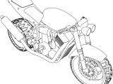 Bikes Suzuki GSX R Streetfighter Coloring Pages
