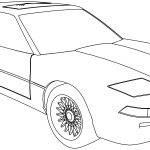 Bmw 850 Sport Car Coloring Page