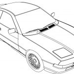 Bmw 850b Car Coloring Page