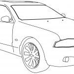 Bmw M5b Car Coloring Page