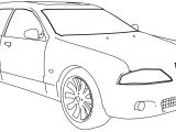 Bmw M5b Car Coloring Page