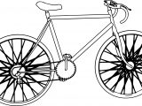 Bold Bike Coloring Page