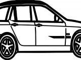 Bold Car Coloring Page