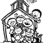 Camping Vbs Coloring Page