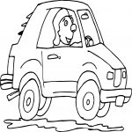 Car Stock Photo Driving Man Coloring Page