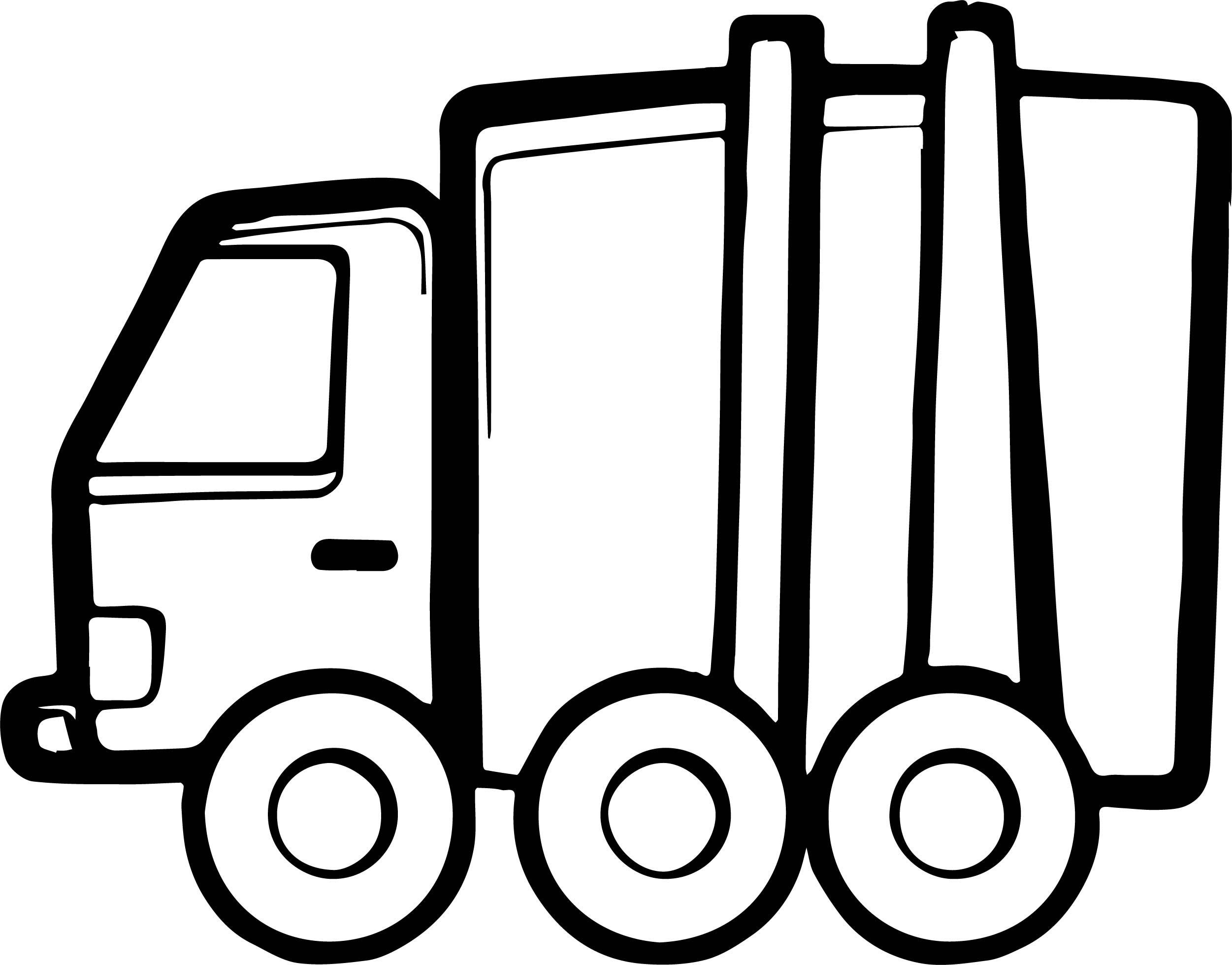 Car Truck Coloring Page
