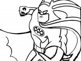 Cartoon Batman Coloring Page