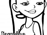 Character Jasmine Nolan American Dragon Jake Long Season Coloring Page Jpg