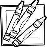 Children's Resources Pen Pencil Coloring Page