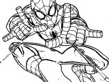 Coming The Spider Man Coloring Page