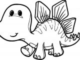 Dinosaur Cartoon Coloring Pages