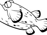 Disney Finding Nemo Bloat Swim Fish Coloring Pages