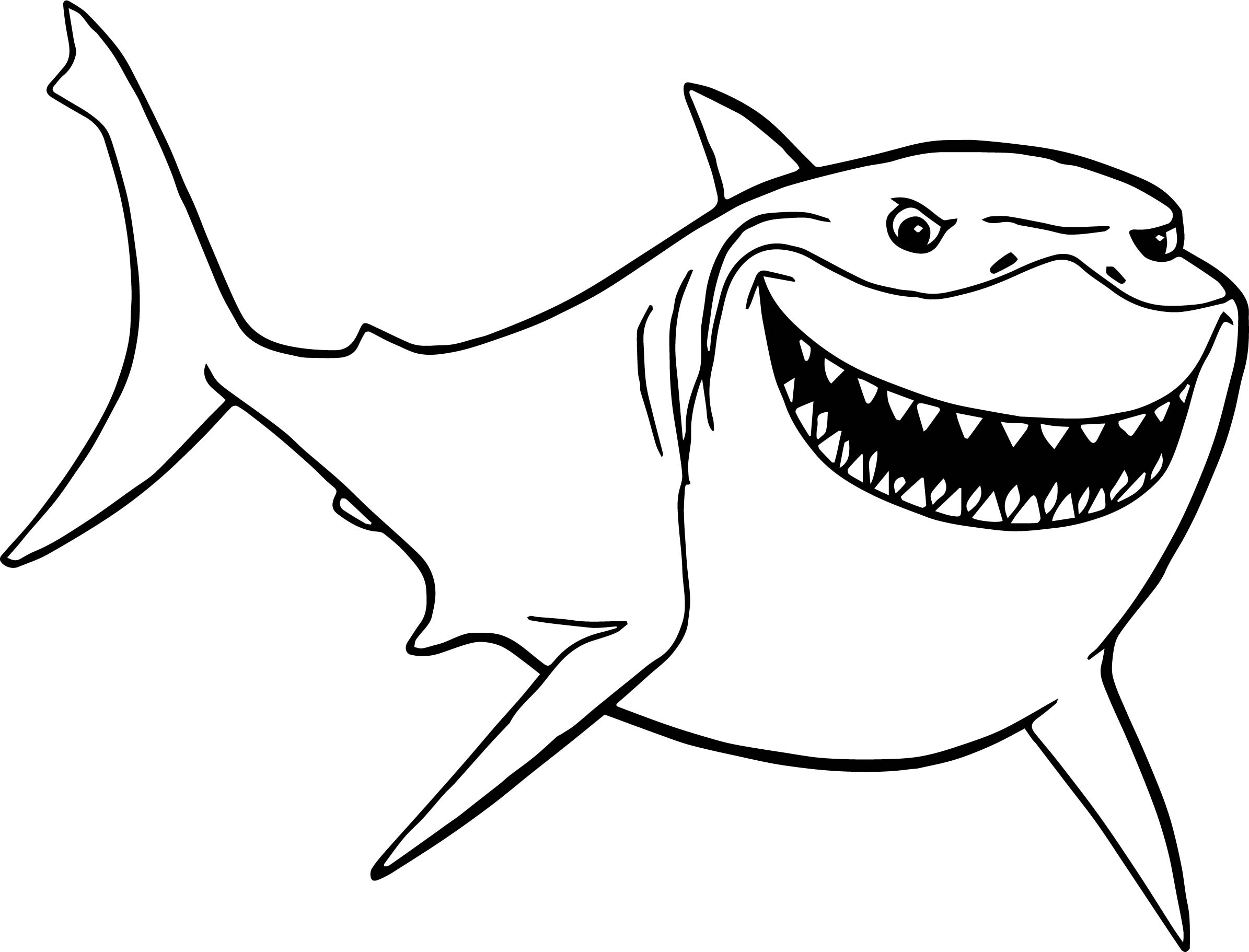 Jaws printable coloring pages jaws best free coloring pages for Coloring pages shark