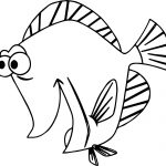 Disney Finding Nemo Bubbles Excited Coloring Pages