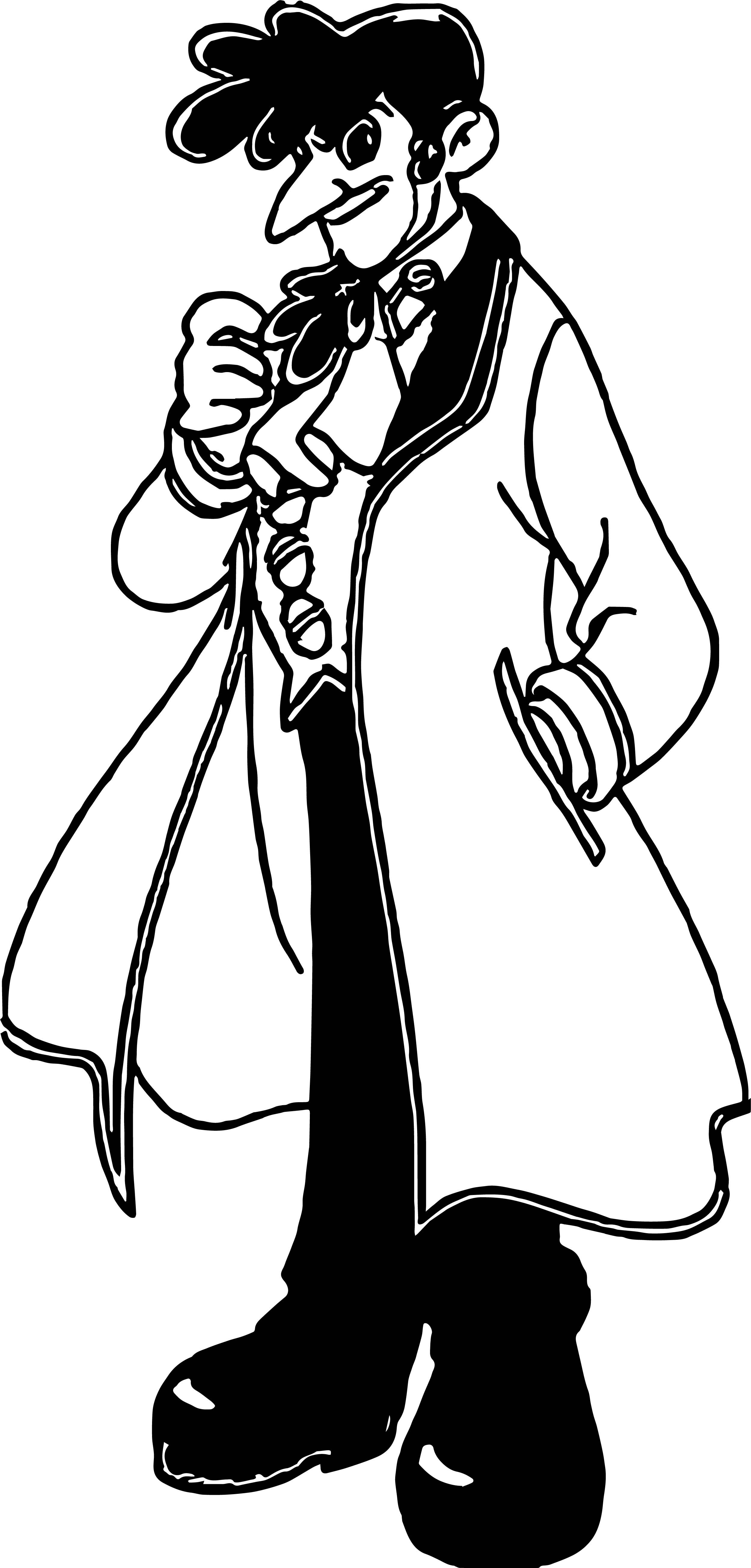 Dr Tenma Coloring Page