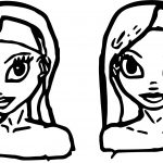 Drimlike Character Design Coloring Page