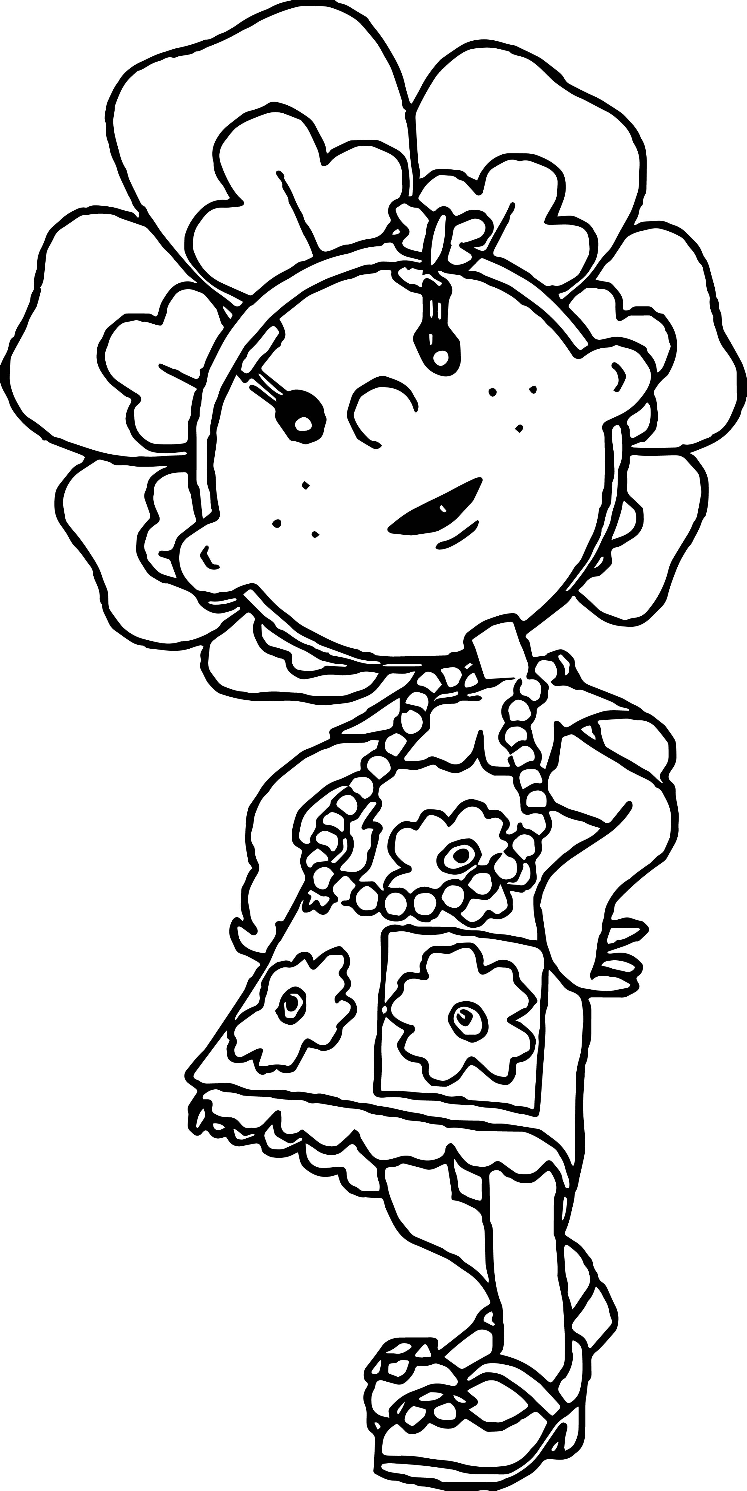 Fifi Me Coloring Page