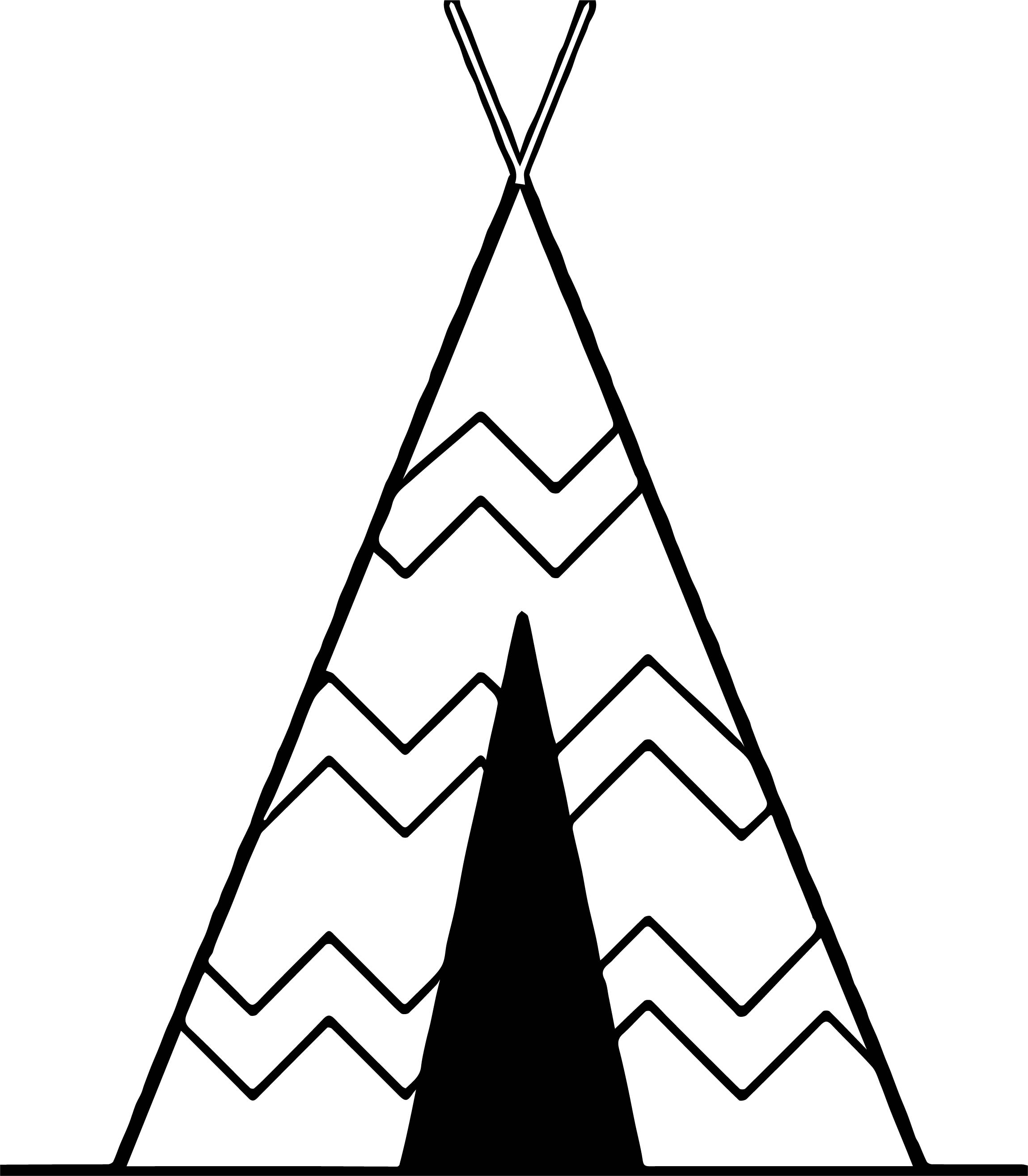 Finest Collection Of Free To Use Tent Art Camping Coloring