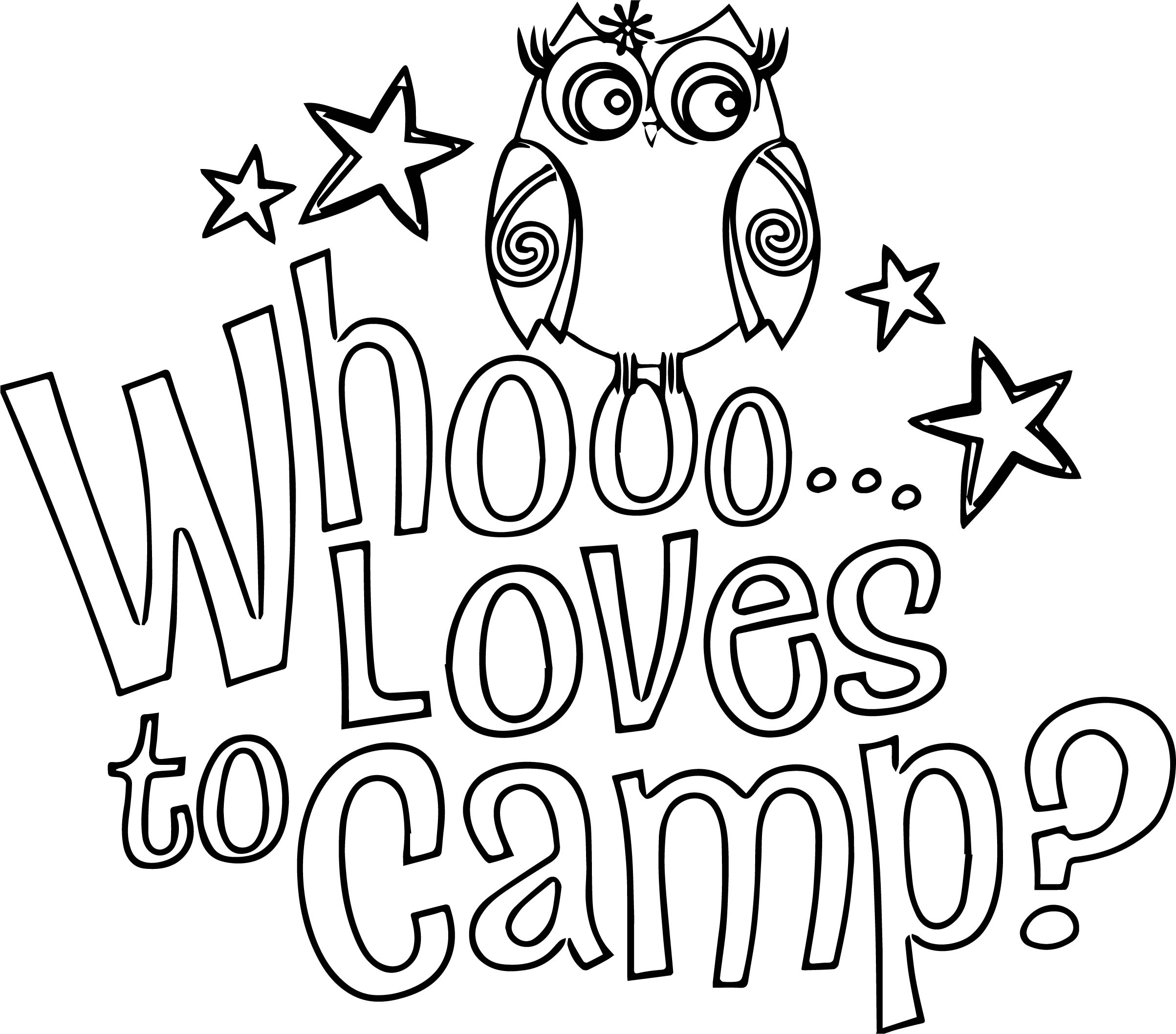 Girl Scout Brownie Art Free Gswny Troop Camping Coloring Page ...