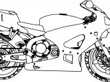 bold line coloring pages | MotorCycle Coloring Pages | Wecoloringpage.com