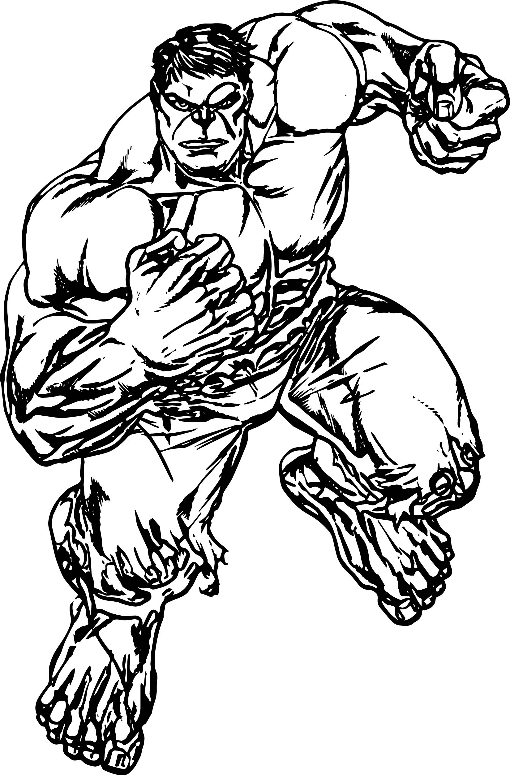 Hulk avengers coloring page for Coloring pages of the avengers