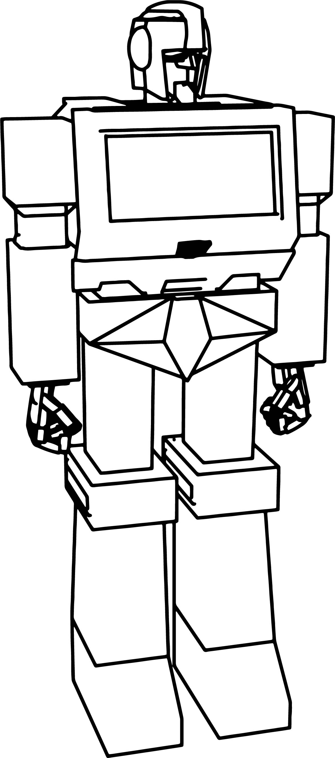 Iron Hide G1 Autobot Coloring Page