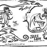 Jake Long The Ocidental Dragon Coloring Page