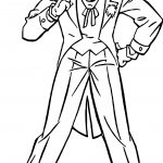 Joker From Batman Movie No No No Coloring Page