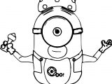 Just Baby Minions Coloring Page