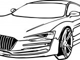 Just Car Coloring Page