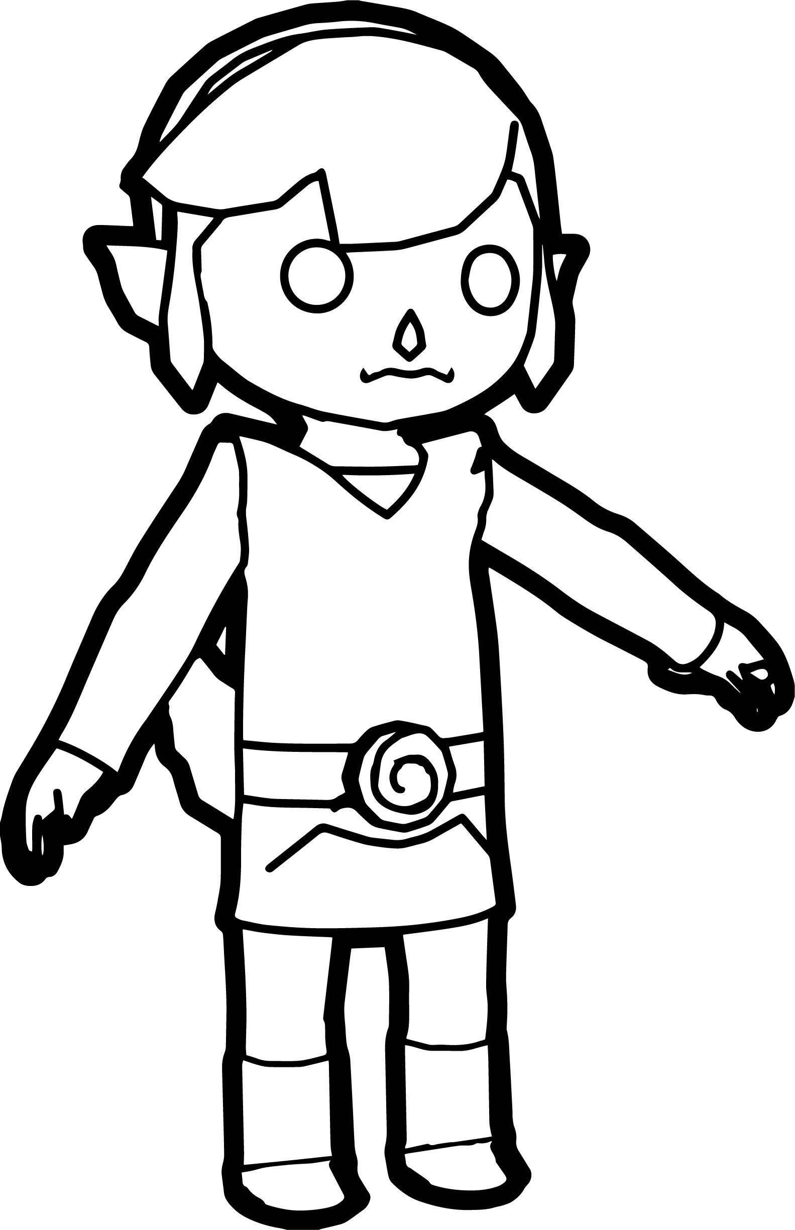 Koura Cartoon Coloring Page