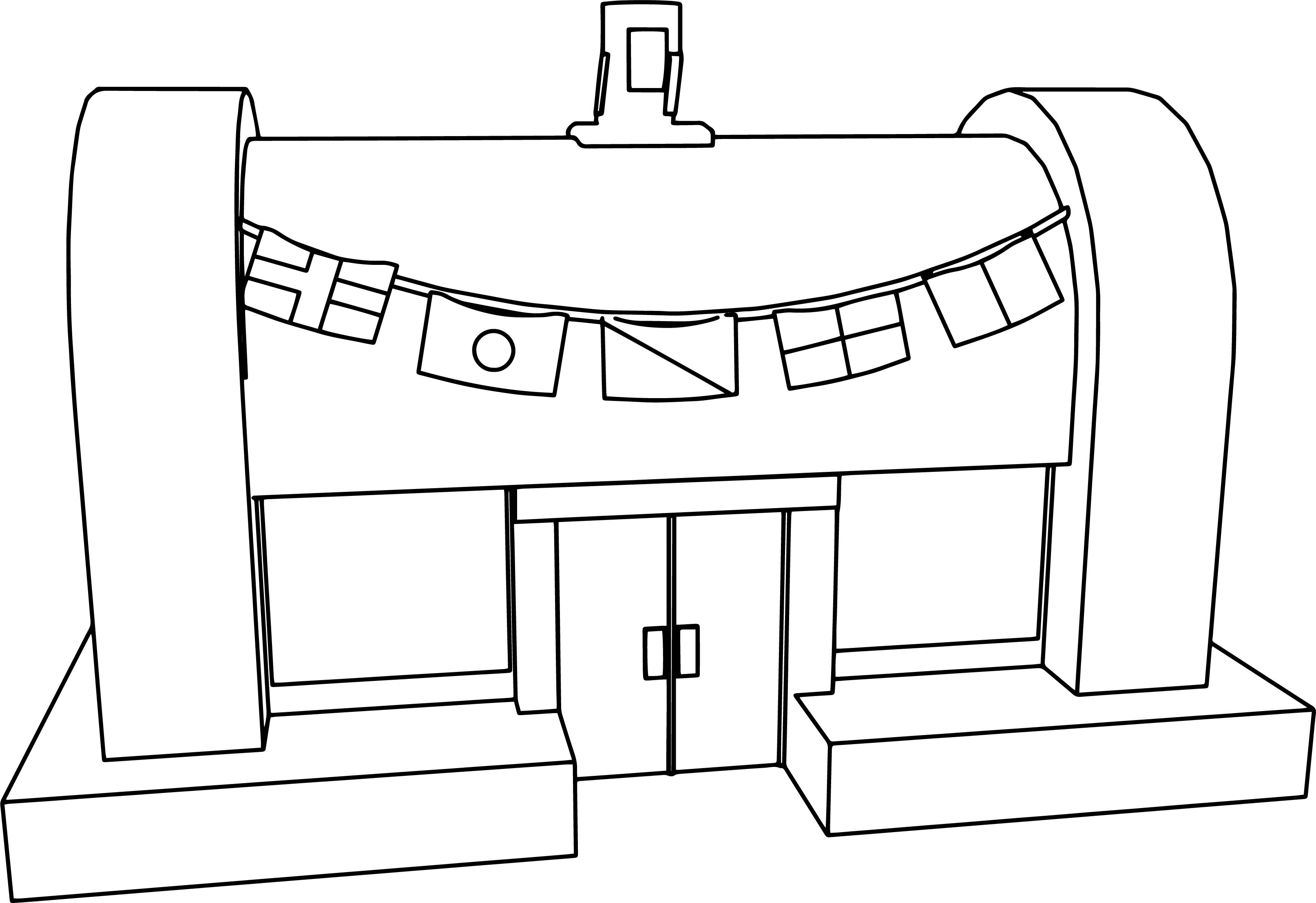 Krusty krab coloring page for Krusty krab coloring pages