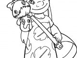 Lilo And Stitch Toy Coloring Page