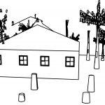Lumberjack House Coloring Page